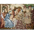 Tapiz de Navidad: Adoración de los Reyes al Niño