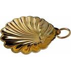 Concha de Bautismo - Metal plateado o dorado dorado