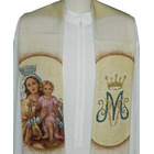 Estola de la Virgen del Carmen con el Niño