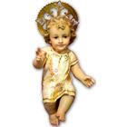 Niño Jesús decorado con pan de oro