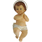 Niño Jesús de resina en 20 cm.