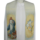 Estola mariana con la Virgen Purísima de Murillo