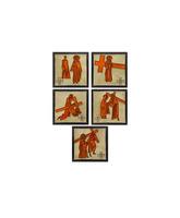 Vía Crucis de cerámica