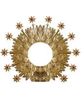 Aureola de doce estrellas con brillantes