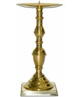 Candelero de mesa con púa vertical para vela