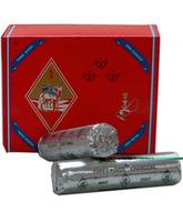Carbón Tres Reyes en pastillas de 3,3 cm.