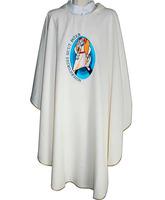 Casulla con bordado oficial Año Santo de la Misericordia