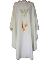 Casulla galón Espíritu Santo - Pentecostés