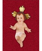 Colgadura para Navidad del Niño Jesús con rayos