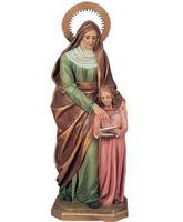 Santa Ana con la Virgen María