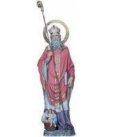 San Nicolas con los tres niños