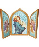 Trípticos religiosos - La Madonnina de Ferruzzi