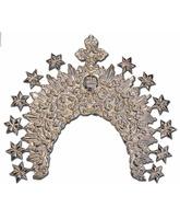 Diadema de bronce con baño