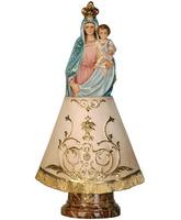 Virgen del Pilar con el Niño Jesús en brazos