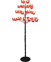 Lampadario de forja con forma de árbol