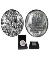 Medallón de plata recuerdo del Año Santo