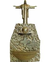 Pila de agua bendita con dispensador electrónico