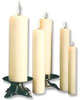 Vela de cera para altar