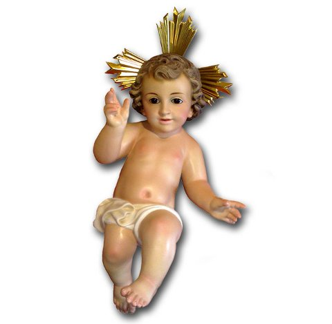 Niño Jesús en pañales