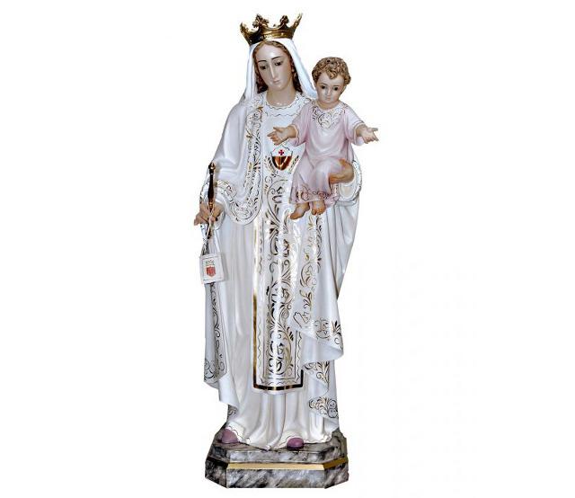 Talla de la Virgen de las Mercedes