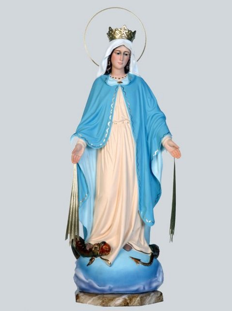 Figura de la Virgen de la Milagrosa