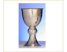 Cáliz de plata románico