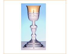 Cáliz de plata con 24,5 cm. de altura