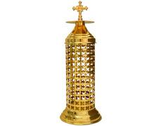 Aplique del Santísimo con Cruz dorado