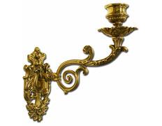 Aplique de pared fabricado en bronce