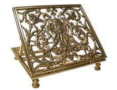 Atril para mesa fabricado en bronce