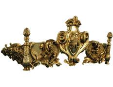 Atril de bronce para mesa