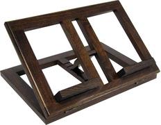 Atril de madera plegable