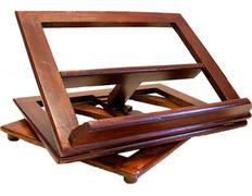 Atril giratorio para mesa con cuatro inclinaciones