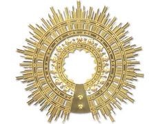 Aureola modelo Virgen del Pilar