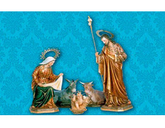 Balconera de Navidad con Nacimiento
