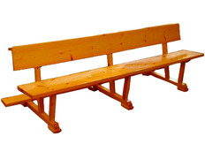 Banco de madera para Iglesia