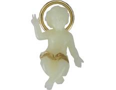 Niño Jesús fluorescente para Belén de Navidad