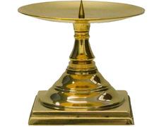 Candelero para altar para vela de cera