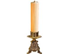 Candelero de altar - Vela de parafina de 5 cm.