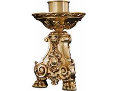 Candelero de bronce para mesa