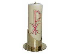 Candelero de mesa liso para velas de 8 cm.