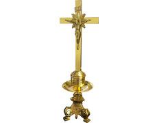 Candelero para altar con Crucifijo