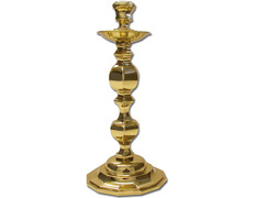 Candelero para mesa fabricado en bronce pulido