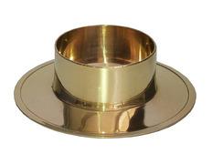 Candelero de metal para mesa