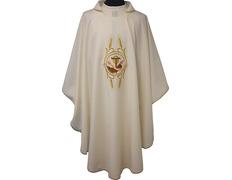 Casulla bordado Franciscano