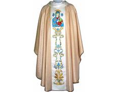 Casulla mariana | Estolón Virgen Perpetuo Socorro