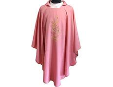 Casulla bordada | Casulla en seis colores rosa