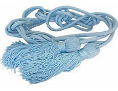 Cíngulo de poliéster azul celeste