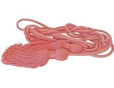 Cíngulo de poliéster rosa