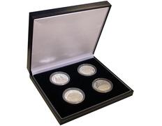 Colección monedas de plata de Santiago de Compostela